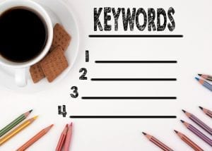 Blank list to help optimize for negative keyword lists