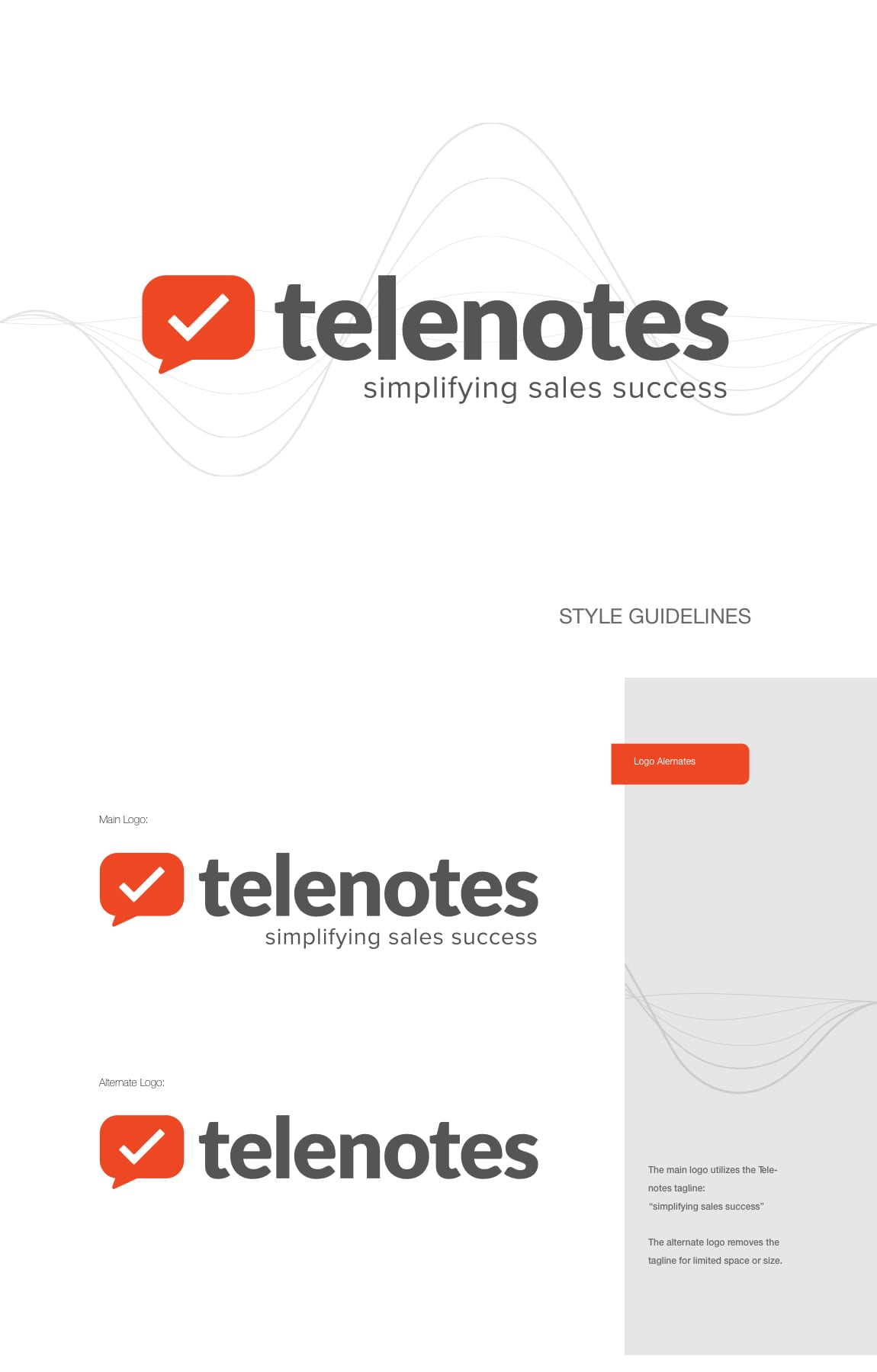 TELENOTES STYLE GUIDE