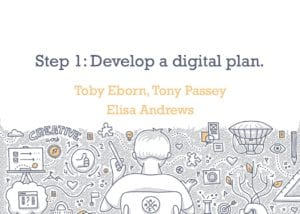 create a digital presence presentation thumbnail
