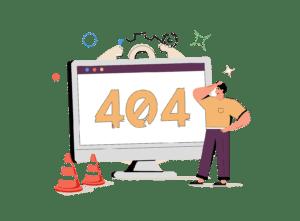 404 error code is why website development consultants are needed
